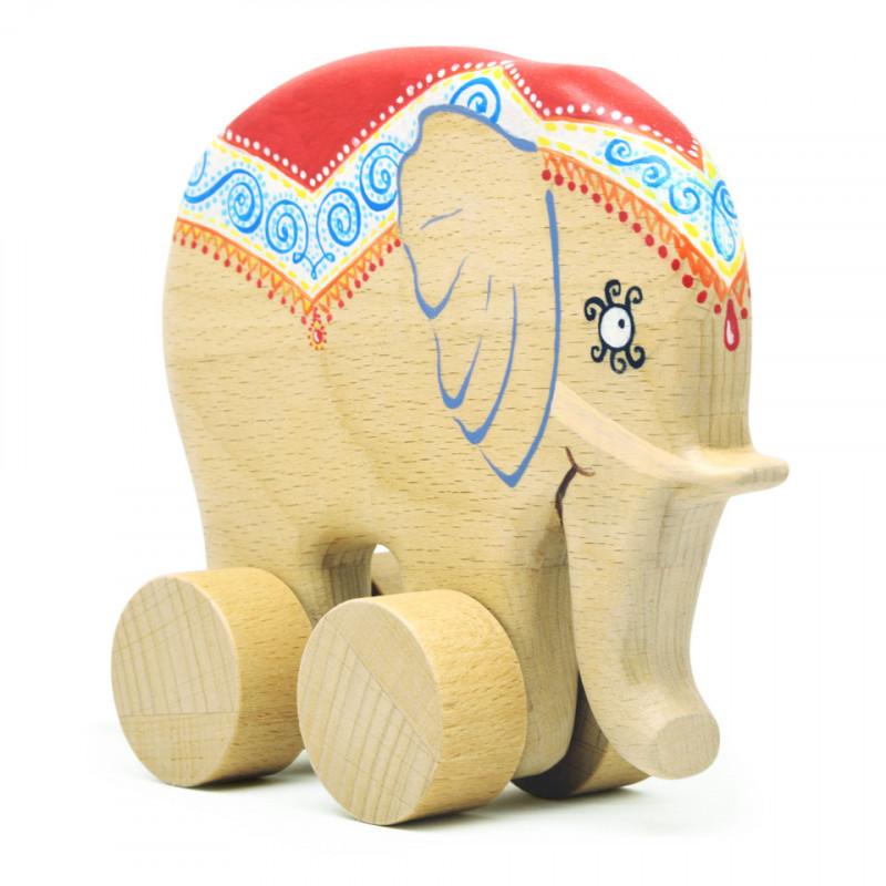 Слоник из дерева