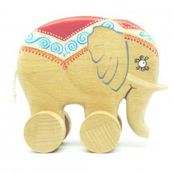 Слон каталка
