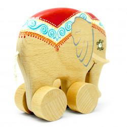 Деревянный слон Потап
