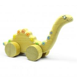 Динозаврик на колесах