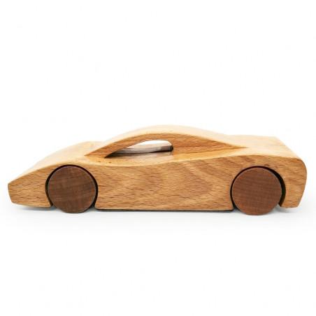 Спортивная машина из дерева