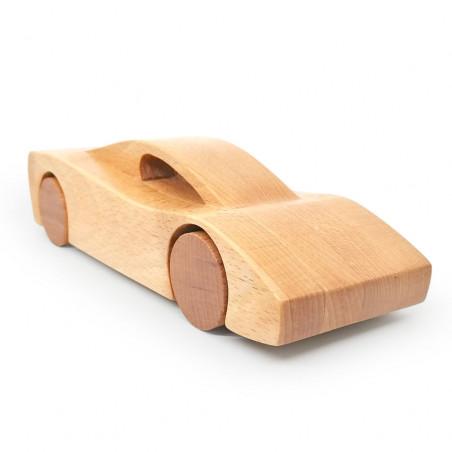 Деревянный спорткар