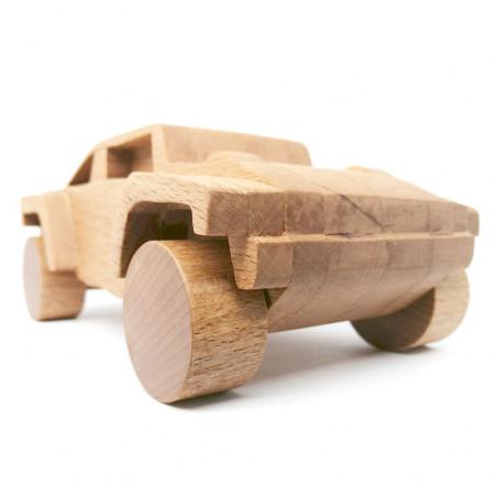 Деревянный джип