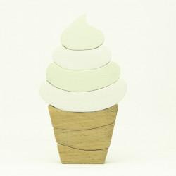 """Деревянная игрушка """"Стаканчик мороженного"""""""