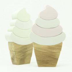 """Деревянная игрушка """"Мороженое рожок"""""""
