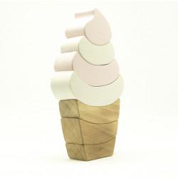 Мороженое из дерева