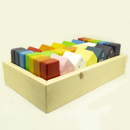 Набор кубиков для детей Город