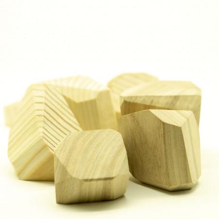 деревянные камни
