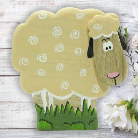 Деревянная овечка