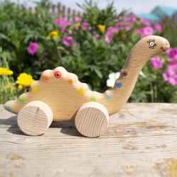 Деревянный динозавр «Гоша»