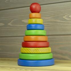 Деревянная пирамидка Классика
