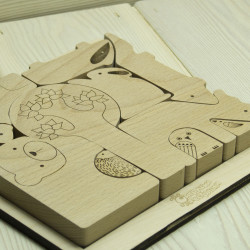 Wooden Animals Puzzle...