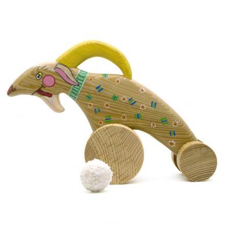 Игрушка ручной работы козлик
