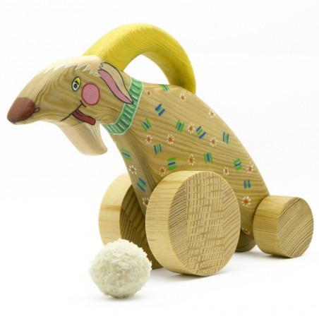 Игрушка каталка козлик