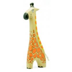 Фигурка жирафа из дерева